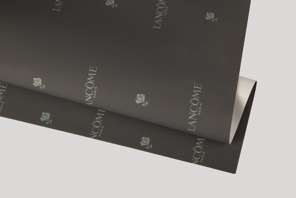 Bespoke wrapping paper with logo - ONE-SIDE COATED PAPER