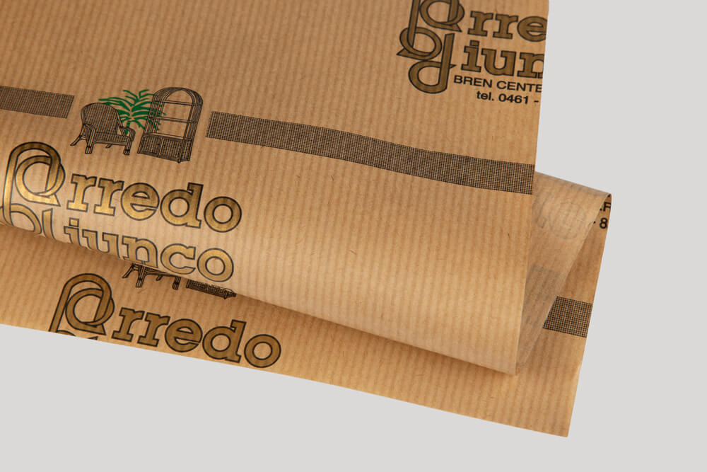 Bespoke wrapping paper with logo - SEALING PAPER