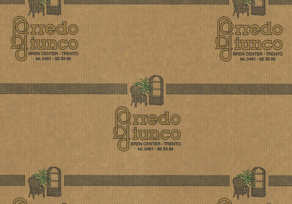 carta sealing - carta sealing personalizzata con logo ARREDO GIUNCO