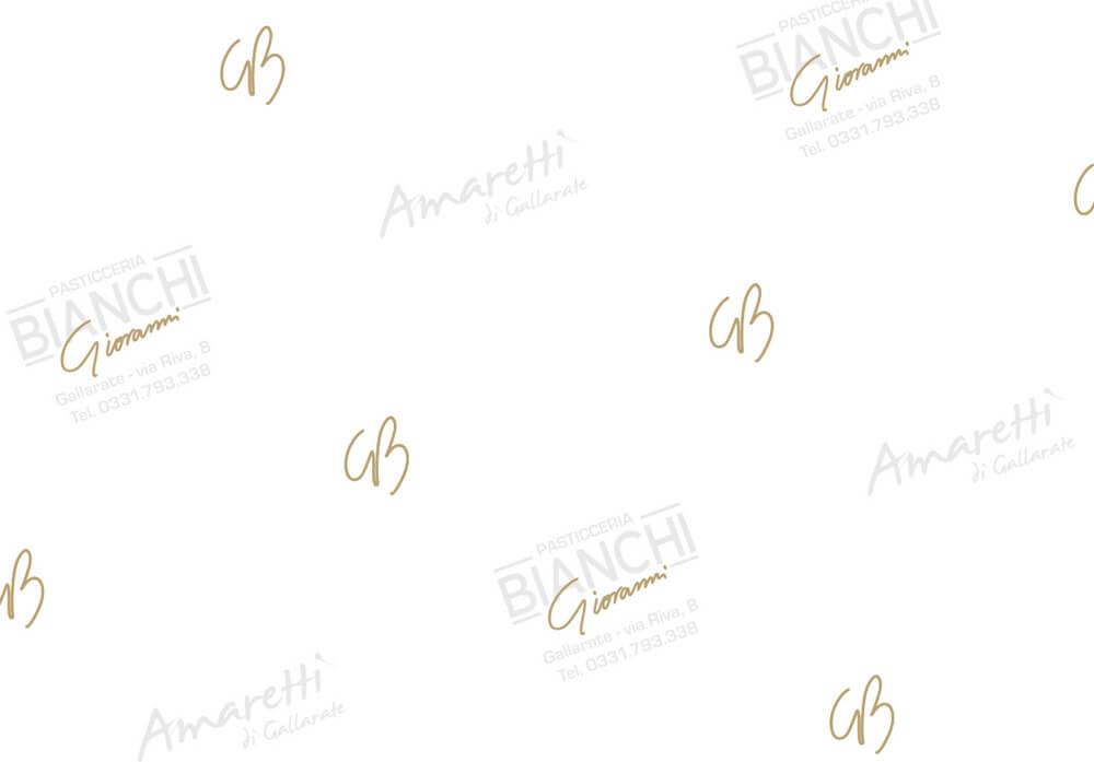 Papier paraffiné, Papier alimentaire paraffiné personalissé avec logo BIANCHI