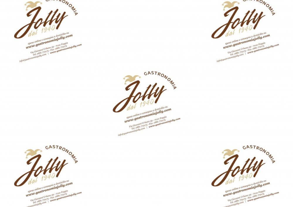 Tissue paper for wrapping food - Custom printed food wrapping paper with logo JOLLY