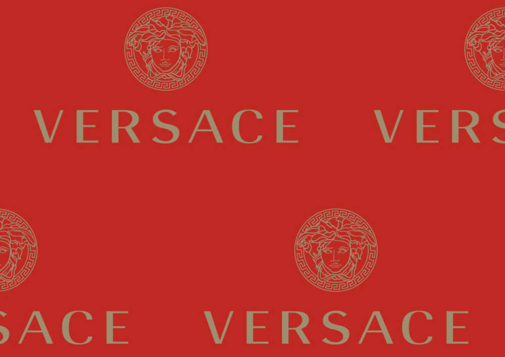 Tissue paper clothing wrapping - Bespoke tissue paper Versace