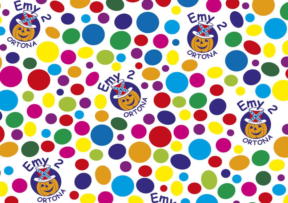 carta monopatinata personalizzata con logo EMY
