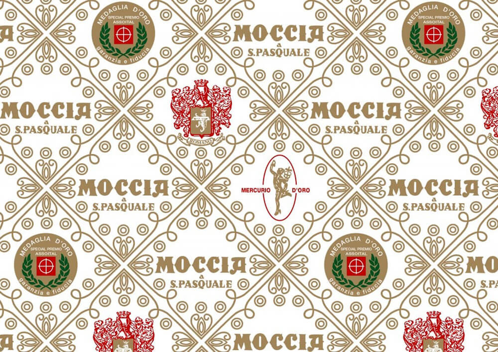 confectionery paper - tissue paper for sweets - bespoke confectionery paper with logo MOCCIA