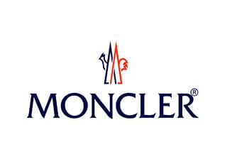 Papier de soie emballage personnalisé avec Moncler imprimé