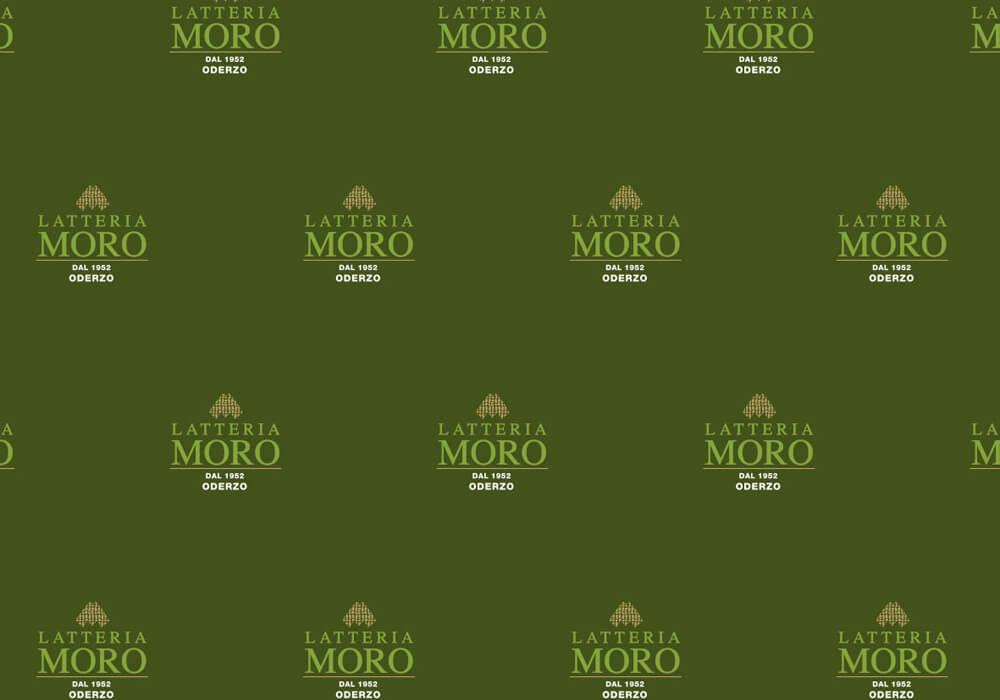 Carta politenata - carta politenata personalizzata con logo LATTERIA MORO