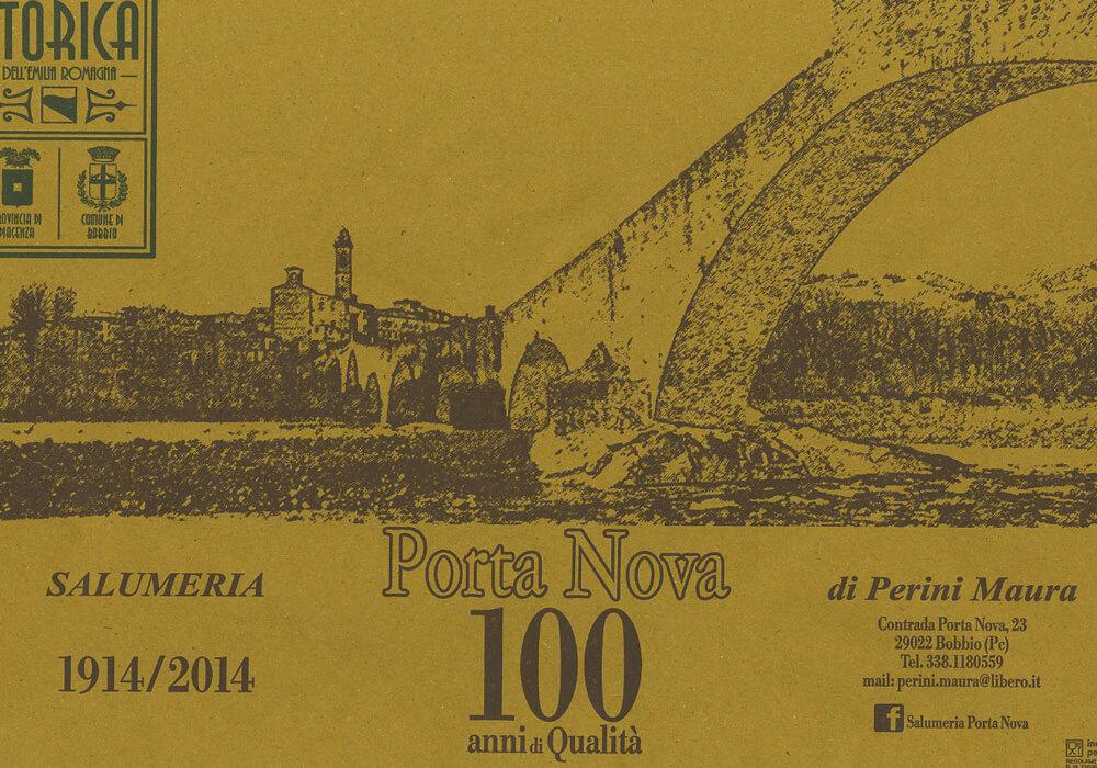 Carta paglia per alimenti - carta paglia personalizzata con logo PORTA NOVA