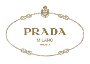 Custom packaging paper with logo - Prada
