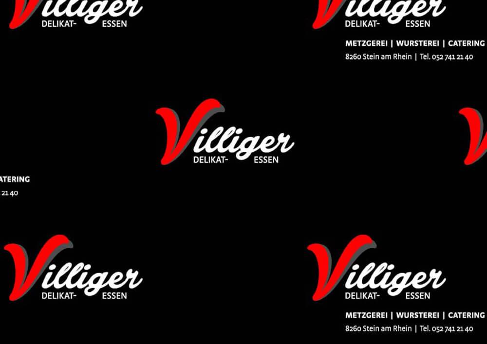 Carta politenata - carta politenata personalizzata con logo VILLIGER